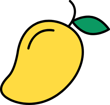 Outlined Mango