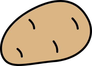 Outlined Potato