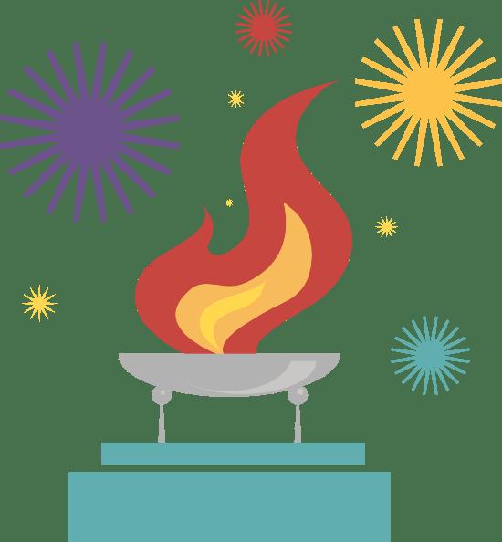 Flame & Fireworks
