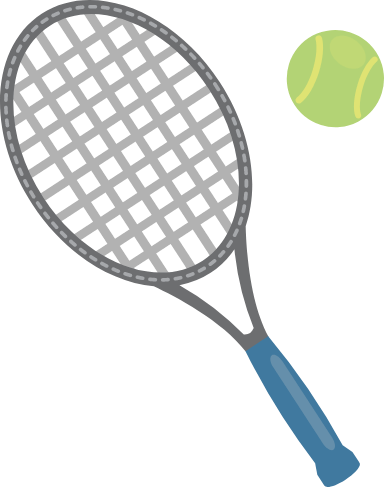 Tennis Racket & Ball
