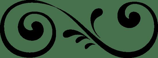 Calligraphy Garnish