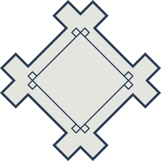 Crossed Decal