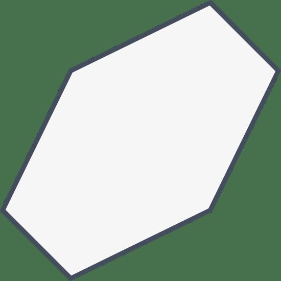Oblong Hexagon