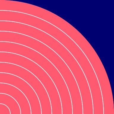 Quarter Circle Form