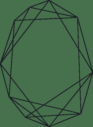 Elliptical Line Frame