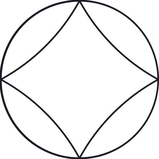 Positive Arched Glyph