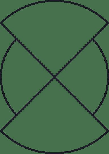 Quartered Circle Glyph