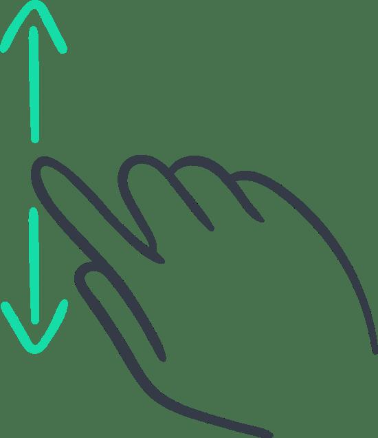 One-Finger Scroll