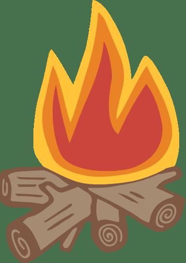 Blazing Campfire