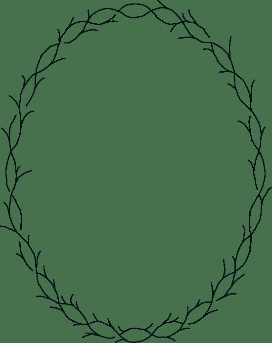 Drawn Briar Frame