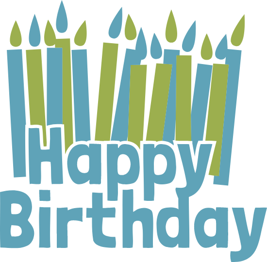 Happy B-Day Candles