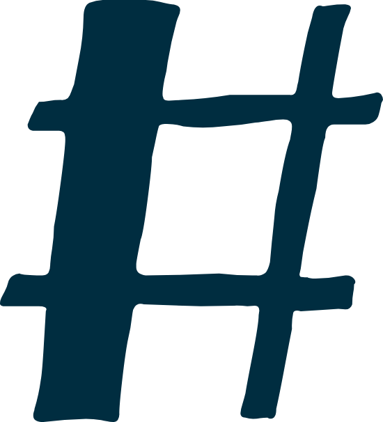 Marker Hashtag