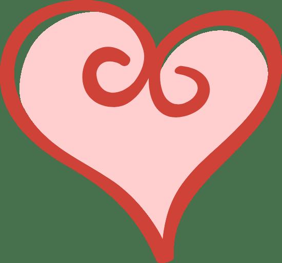 Curlicue Heart