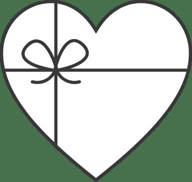 Bowtie Heart
