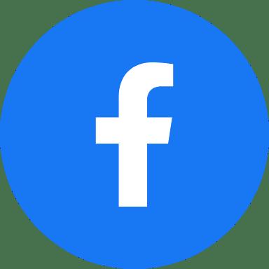 Round Blue Facebook