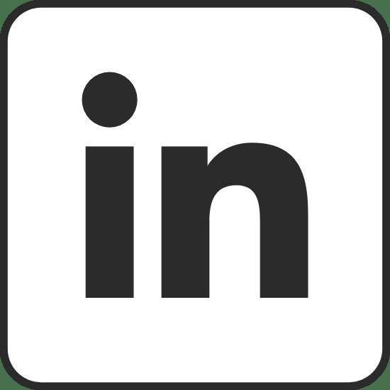 Edged Black LinkedIn