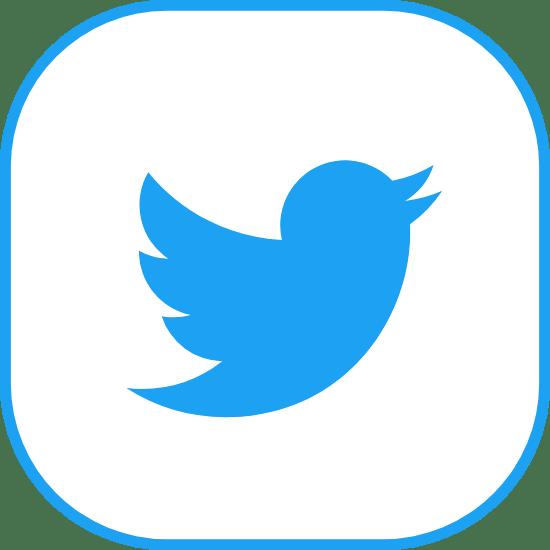 Rotund Blue Twitter