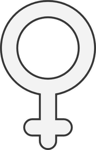 Rounded Female Sign