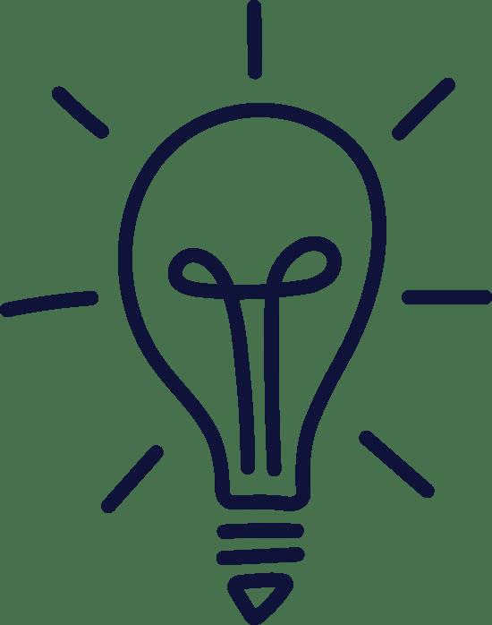 Plain Bright Lightbulb