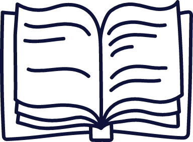 Plain Open Book