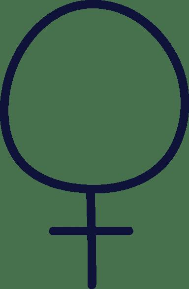 Plain Female Sign