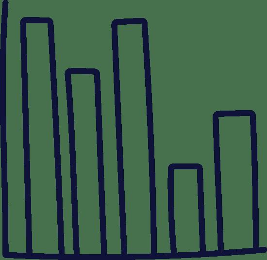 Plain Bar Graph x5