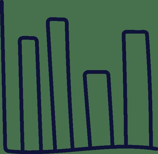 Plain Bar Graph x4