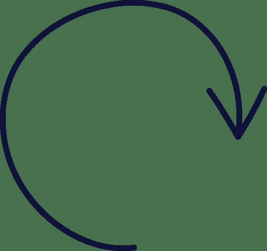 Plain Clockwise Arrow