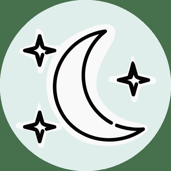 Basic Moon & Stars