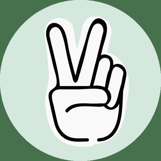 Basic Peace Sign