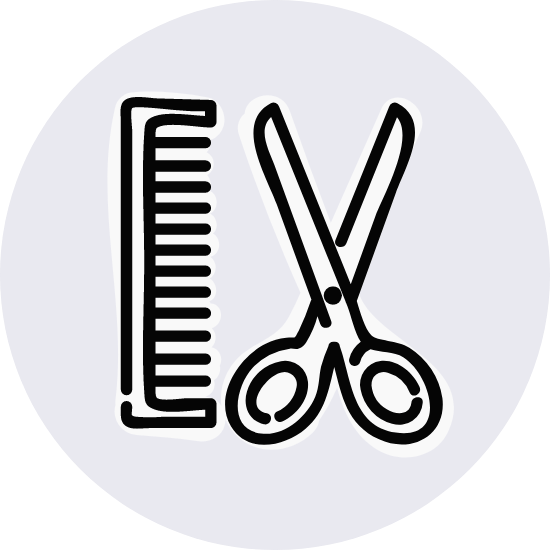 Basic Comb & Scissors