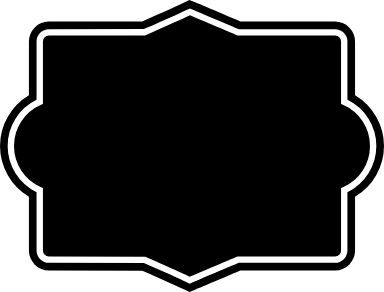 Dark Rectangle Badge