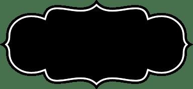 Dark Rounded Badge