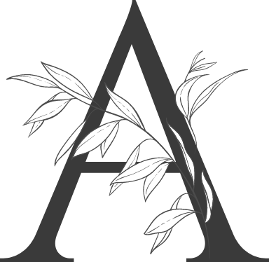 "Leafy Letter ""A"""