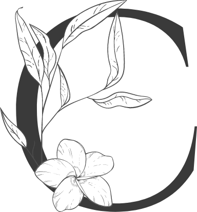"Leafy Letter ""C"""