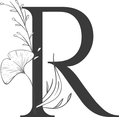 "Leafy Letter ""R"""