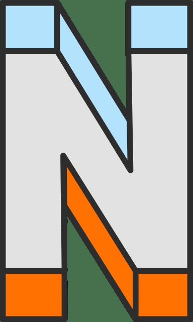 """Dimension Letter """"N"""""""