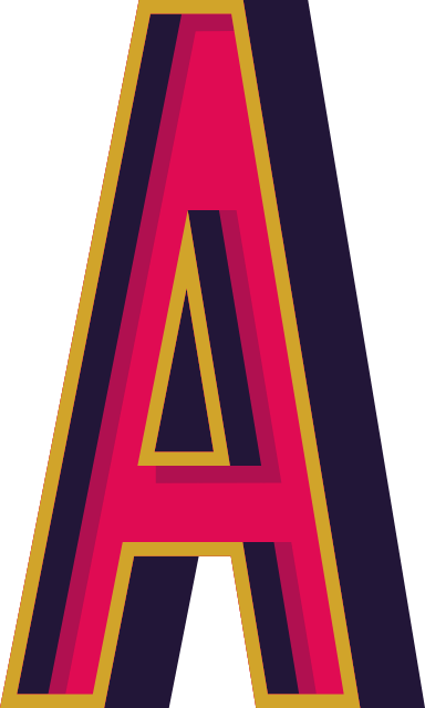 "Marquee Letter ""A"""
