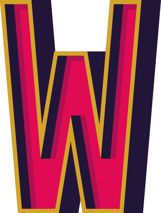 """Marquee Letter """"W"""""""
