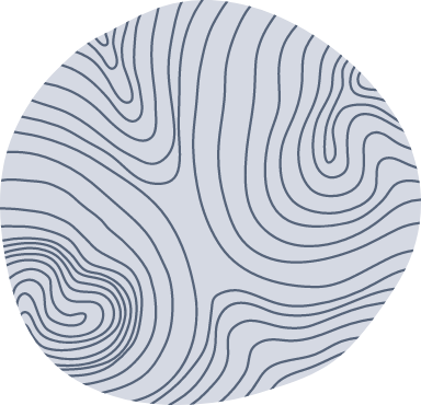 Topographic Line Blob
