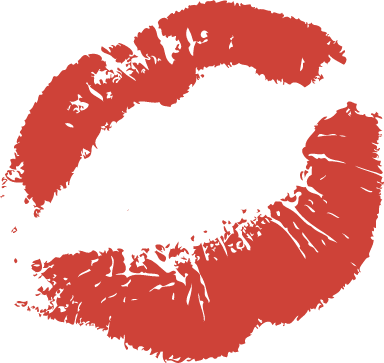 Laughing Lip Print