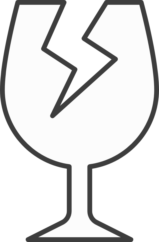 Cracked Wine Glass
