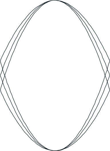Drawn Convex Frame
