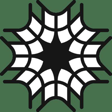 Webbed Snowflake