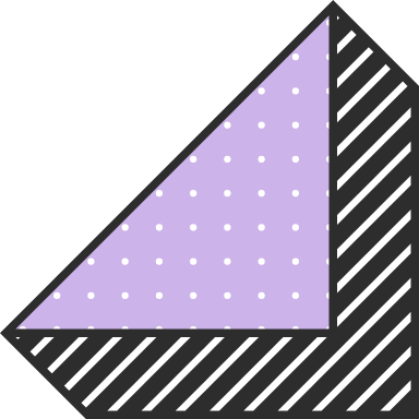Dotted 3D Triangle