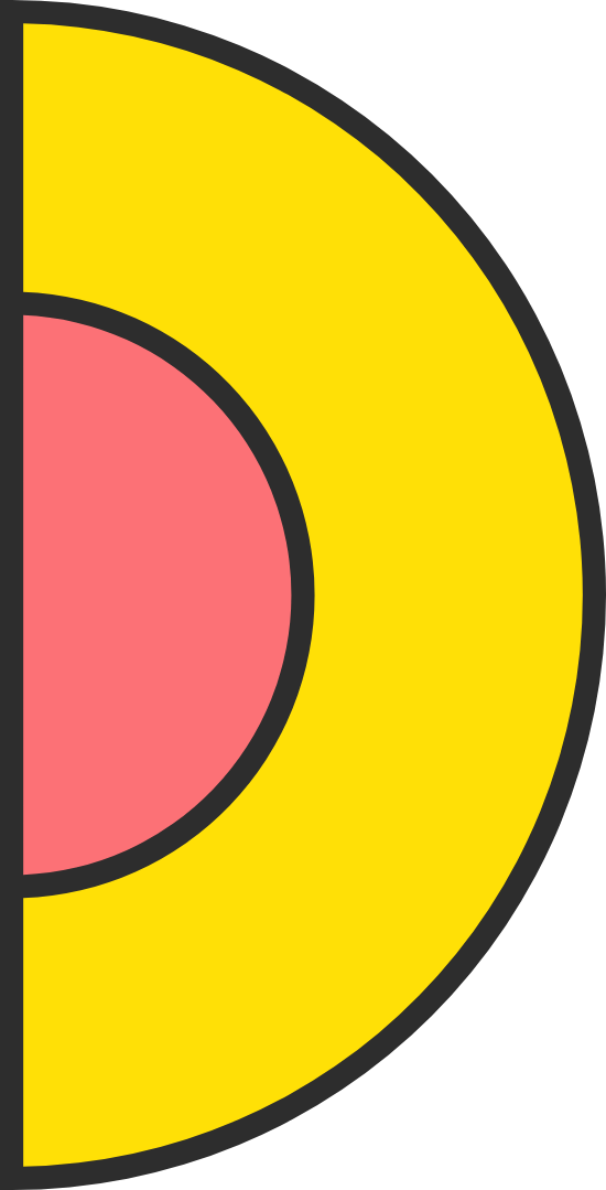 Simple Half Circle