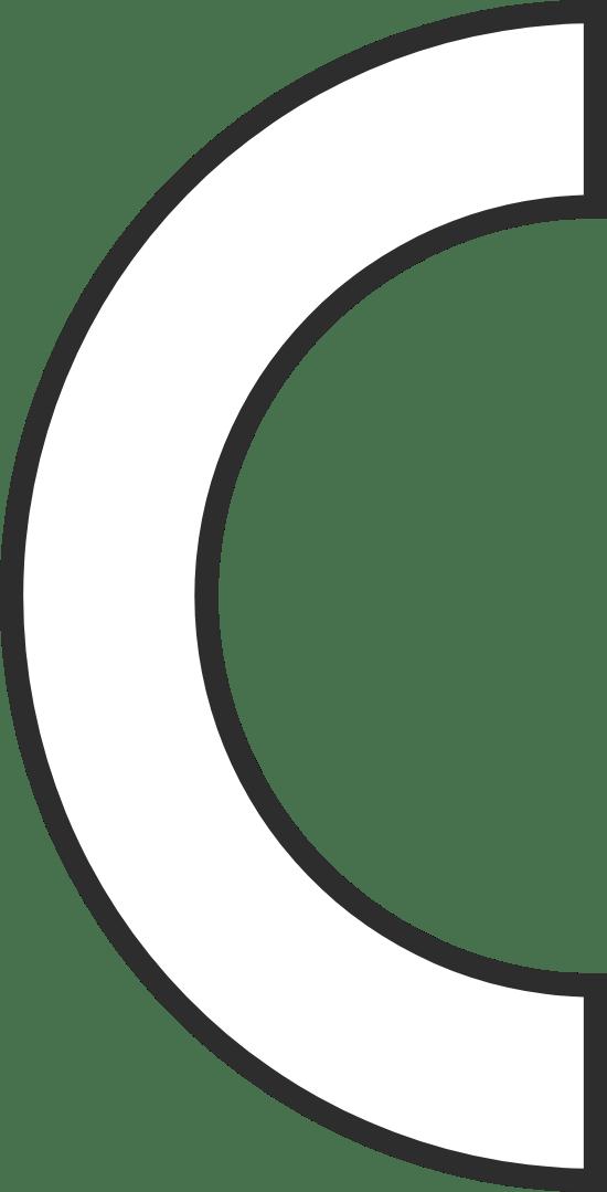 Slim Semicircle
