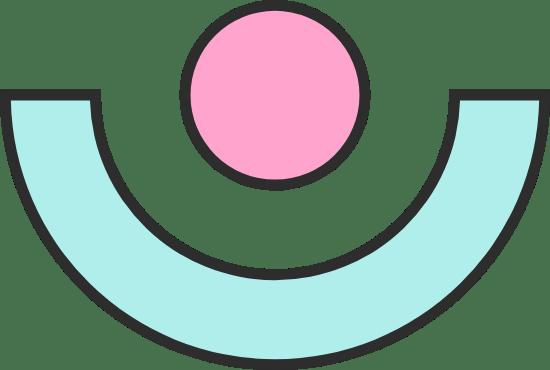 Semicircle & Dot