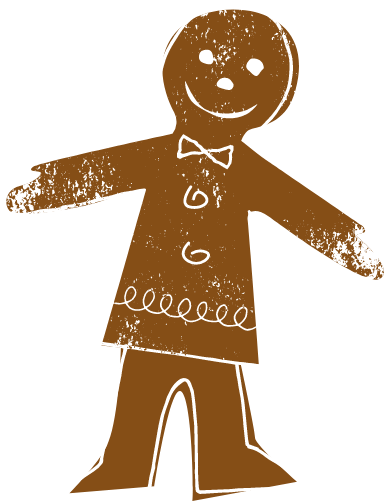 Gingerbread Gentleman