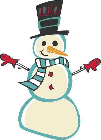 Snowman & Scarf